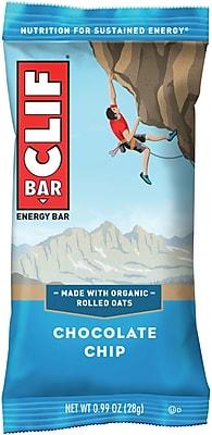 Clif Bar Chocolate Chip Mini, 0.99 Oz., 100/CT
