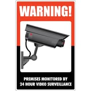 "Cosco® Sign, Surveillance, 8"" x 12"", 1 each (098381)"
