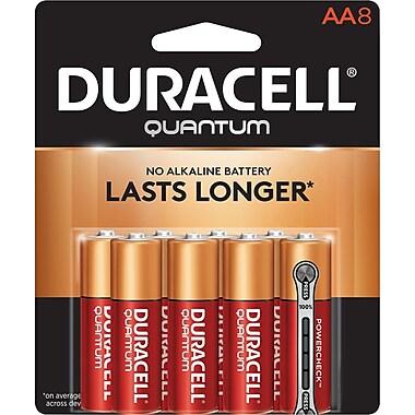 Duracell Battery Quantum Alkaline AA, 8/Pack