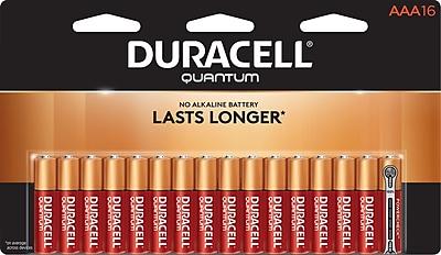 Duracell® Quantum® AAA Alkaline Batteries, 16/Pack