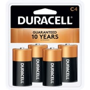 "Duracell® Alkaline ""C"" Batteries, 4-Pack"