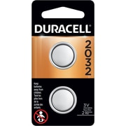 Duracell® CR2032/DL2032 Lithium Battery, 3.0V, 2-Pack