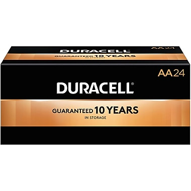 Duracell AA Alkaline Batteries, 144/Pack