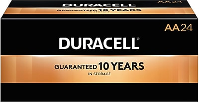 Duracell® Coppertop® AA Alkaline Batteries, 144/Pack