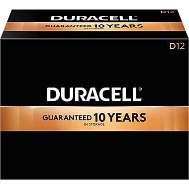 Duracell D Alkaline Batteries, 72/Pack