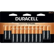 Duracell® Coppertop® AA Alkaline Batteries, 20/Pack