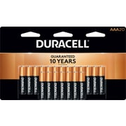 Duracell® Coppertop® AAA Alkaline Batteries, 20/Pack