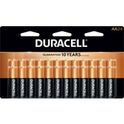 "Duracell CopperTop Alkaline ""AA"" Battery, 24/Pack (MN1500B240001)"