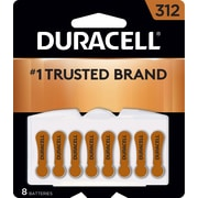 Duracell Button Cell Zinc Battery #312 8/Pack (DA312B8ZM09)