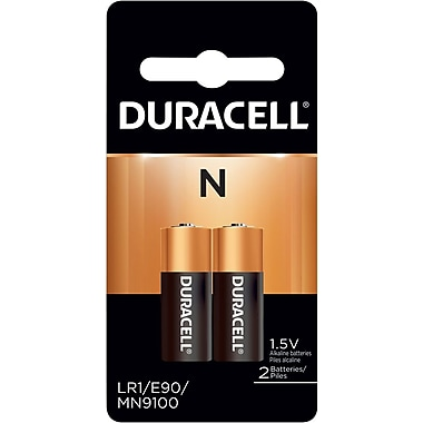 Duracell® N Alkaline Battery, 2/Pack
