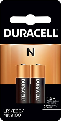 Duracell® N Alkaline Battery, 2/Pack
