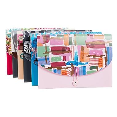 Assorted Prints 13 Pocket Poly Expandable File Folder