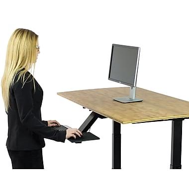 Uncaged Ergonomics KT2 Ergonomic Sit Stand Keyboard Tray Black (KT2)