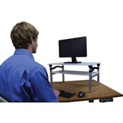 "Uncaged Ergonomics LIFT Adjustable Monitor Stand (13-20"")"