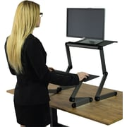 Uncaged Ergonomics WorkEZ Standing Desk Black (WESDb)