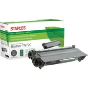 Sustainable Earth by Staples Remanufactured Black Toner Cartridge, Brother TN-720, (SEBTN720R)