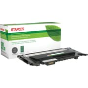 Staples® Remanufactured Color Laser Toner Cartridge, Samsung CLP-320 (CLT-K407S), Black
