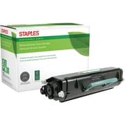 Staples® Remanufactured Laser Toner Cartridge, Lexmark E260, Black, High Yield
