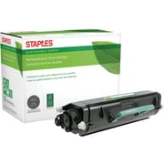 Staples® Remanufactured Black Toner Cartridge, Lexmark E260
