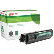 Staples® Remanufactured Laser Toner Cartridge, Lexmark E330 (34015HA/34035HA/12A83050), Black, High Yield