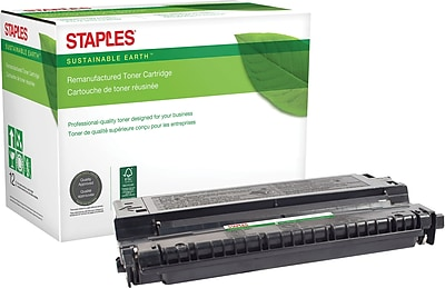 Staples® Remanufactured Laser Toner Cartridge, Lexmark E240 (24015SA/24035SA/24060SW), Black