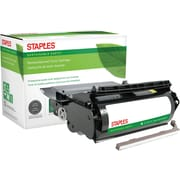 Staples® Remanufactured Black Toner Cartridge, Lexmark 1382625, 1382920, 1382925, 1382929