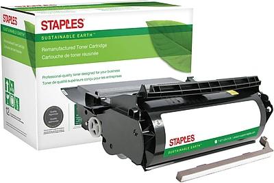 Staples® Remanufactured Black Toner Cartridge, Lexmark 1382625, 1382920, 1382925, 1382929