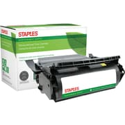 Sustainable Earth by Staples Remanufactured Black Toner Cartridge; Lexmark 12A6765, 12A6860, 12A6865