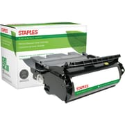 Staples® Remanufactured Black Toner Cartridge, Lexmark T630 (12A7362, 12A7460, 12A7462)
