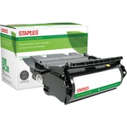 Staples® Remanufactured Black Toner Cartridge, Lexmark T634 (12A7365/12A7465)