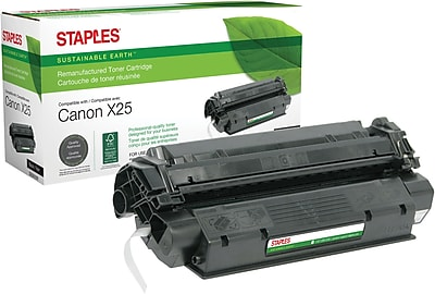 Staples® Remanufactured Black Toner Cartridge, Canon X25 (8489A001AA)