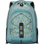 "SwissGear Mars 16"" Laptop Backpack, Light Blue Patter"