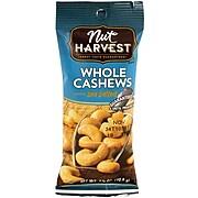 Nut Harvest Sea Salted Whole Cashews, 2.5 oz, 8 Pack