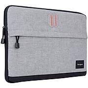 Targus Strata Neoprene Laptop Sleeve for 13.3 Laptops, Pewter (TSS62404US)