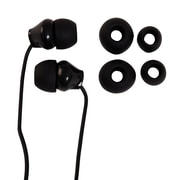 Staples Earbuds with Microphone, Black