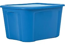 Bella Storage Solution® 18 Gallon Plastic Flat Lid Tote