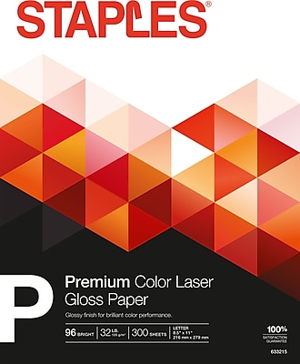 Laser 16311-0 5 Reams 8.5 x 11 Inch, TM Limited Papers Gloss Finish Bright White Color 32 Pound, 114 Gsm