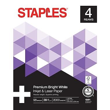 Staples Laser Paper 8 1 2
