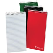 """Ampad® Reporter's Notebook, Pitman Ruled, 8"""" x 4"""", White (25-282)"""