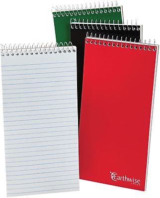 Ampad® Reporter's Notebook, Pitman Ruled, 8