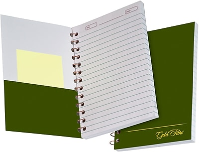 Ampad Gold Fibre® Personal Notebook, White, 7