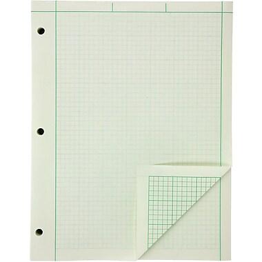 Ampad Evidence Engineer's 5x5 Quadrille Pad, 8 1/2