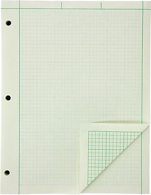 Ampad® Engineers' Pads, 8-1/2x11
