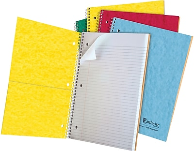 Ampad® 25419 Wirebound Recycled Notebook, 8 7/8