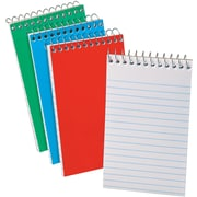 "Ampad Wirebound Pocket Memo Book, 3"" x 5"", Narrow Ruled, 60 Sheets/Book, 3/Pk"