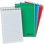 Ampad Wirebound Pocket Memo Book, 40 Sheets, 3/Pack (AMP45094)