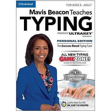 Encore Mavis Beacon Teaches Typing Powered by UltraKey v2 - Personal Edition (MAC) for Mac (1 User) [Download]