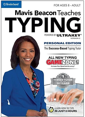 Encore Mavis Beacon Teaches Typing Powered by UltraKey v2 - Personal Edition (PC) for Windows (1 User) [Download]