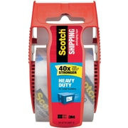 "Scotch Heavy-Duty Shipping Tape, 1.88"" x 800"", Clear (142)"