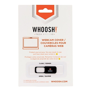 Whoosh Webcam Cover